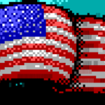 American Flag Screen