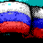 Russian Flag Screen
