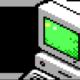 Vintage Computer Menu Screen