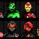 Avengers NanoAvatars